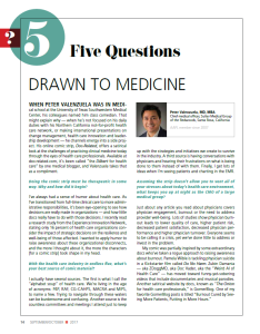 Five Questions Drawn to Medicine