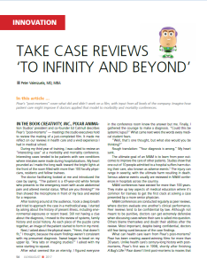 Take Case Reviews 'To Infinity and Beyond'